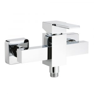 Exposed shower mixer