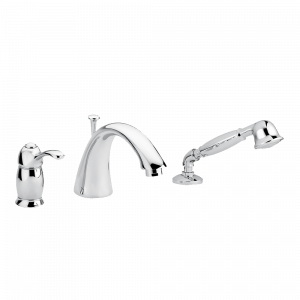 Bathtube mixer with pull-out handshower