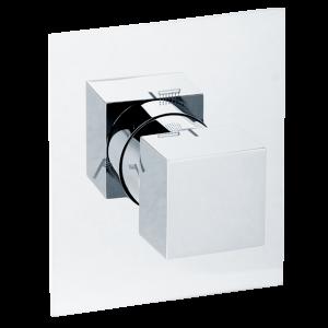 Девиатор поворотный скрытого монтажа 3-х позиционный