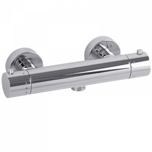 Exposed shower mixer, ½, thermostatic