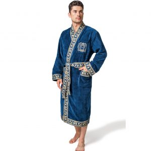 Bathrobe Magnat Blue