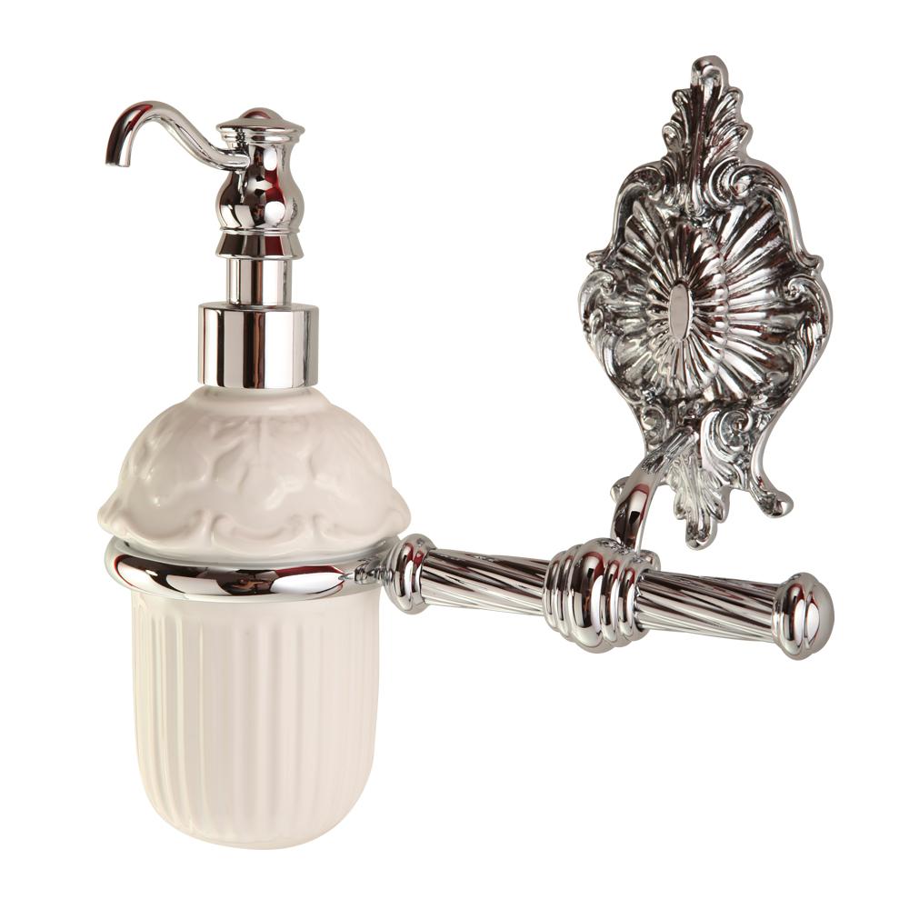 Дозатор жидкого мыла настенный, Elisabetta