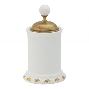 Cotton pad container, H14 cm, Provance