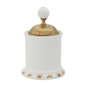 Cotton pad container, H10 cm, Provance