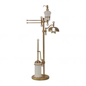 WC and bidet standing set, H101 cm, Provance