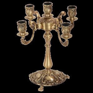 Candelabrum, 5 candles