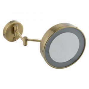 Зеркало оптическое настенное с галогенной подсветкой