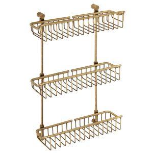 Triple shelf