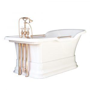 Bathtub Impero Podium white