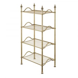 Rack with four shelves, L50 cm, Mirella