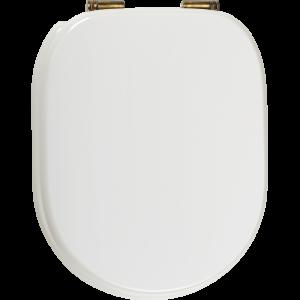 Сиденье Laccato Bianco