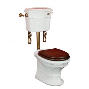 WC low level cistern with lever, Gianeta