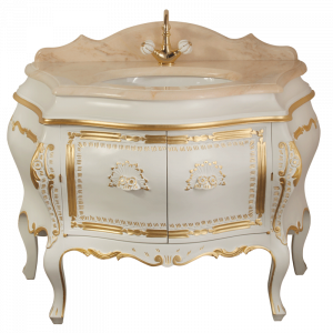 Washbasin furniture, marble top, washbasin, Juliana
