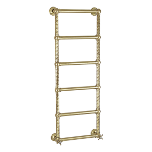 Water heated towel rail