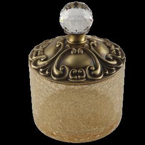 Cotton pad container, H9 cm, Cristalia
