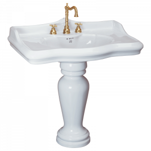 Washbasin 90 on pedestal, Impero