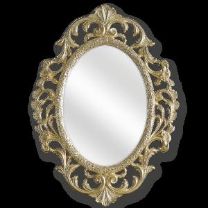Зеркало овальное ажурное