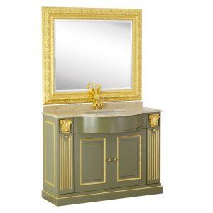 Marble top, washbasin furniture, sink, mirror