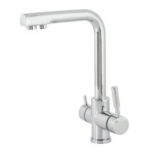The mixer for a sink combined with the pure tap