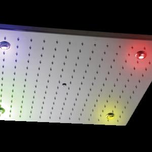 Верхний душ LIVORNO, 500×500 mm