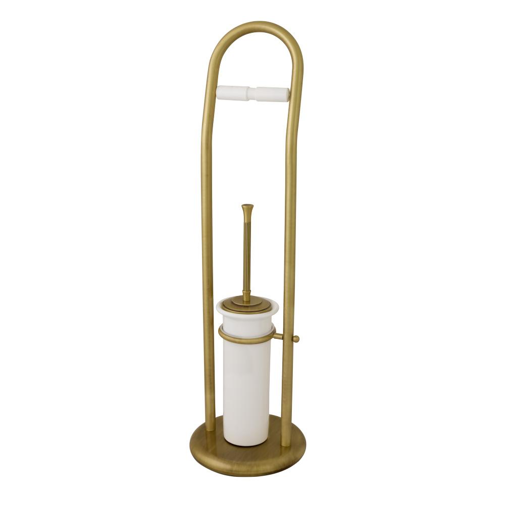 Стойка для WC 2-х функциональная, H72 cm, керамика, Fortuna