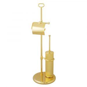 Стойка для WC 2-х функциональная, Fortuna, металл