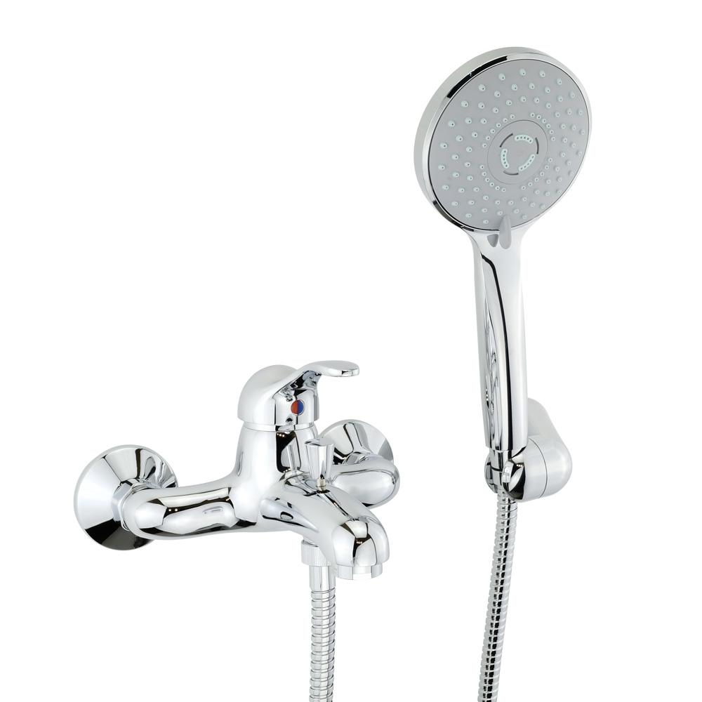 Смеситель для ванны, с ручным душем, Grazia