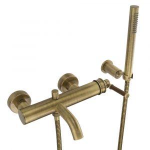 Смеситель для ванны, Ermitage Mini, ручка: орех