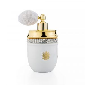 The perfume bottle, Gold, Swarovski