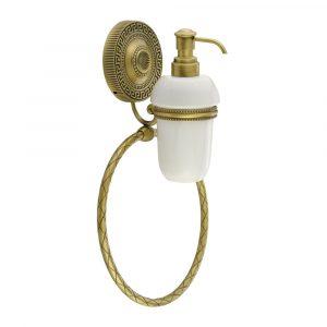 Дозатор настенный с кольцом, Керамика