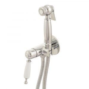 Гигиенический душ со смесителем скрытого монтажа, монокомандный